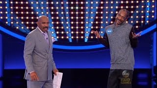 Was Snoop Dogg HIGH on Family Feud?? | What's Trending Now