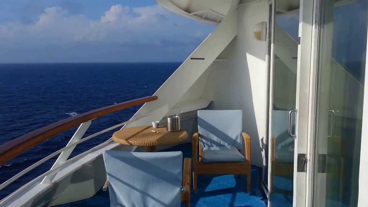 Norwegian Sky Aft Penthouse Balcony Suite 0064 Youtube