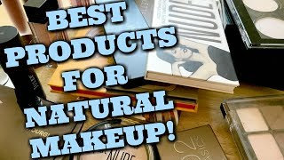 LIVE CHAT: BEST Natural and No Makeup Makeup! High End and Drug Store!