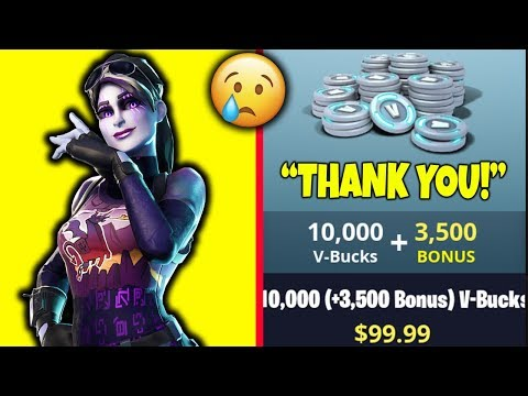 *GIFTING KID* $100 V-BUCKS (BATTLE PASS) IN FORTNITE BATTLE ROYALE!!
