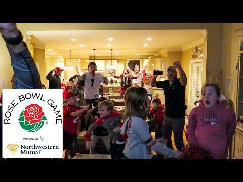 Watching UGA Win the 2018 Rose Bowl