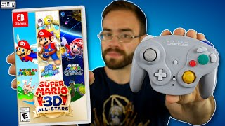 Nintendo Added GameCube Controller Support To Mario 3D All-Stars...Let's Try It Out
