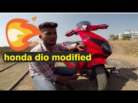 Modification of Honda Dio | BSB VLOGS
