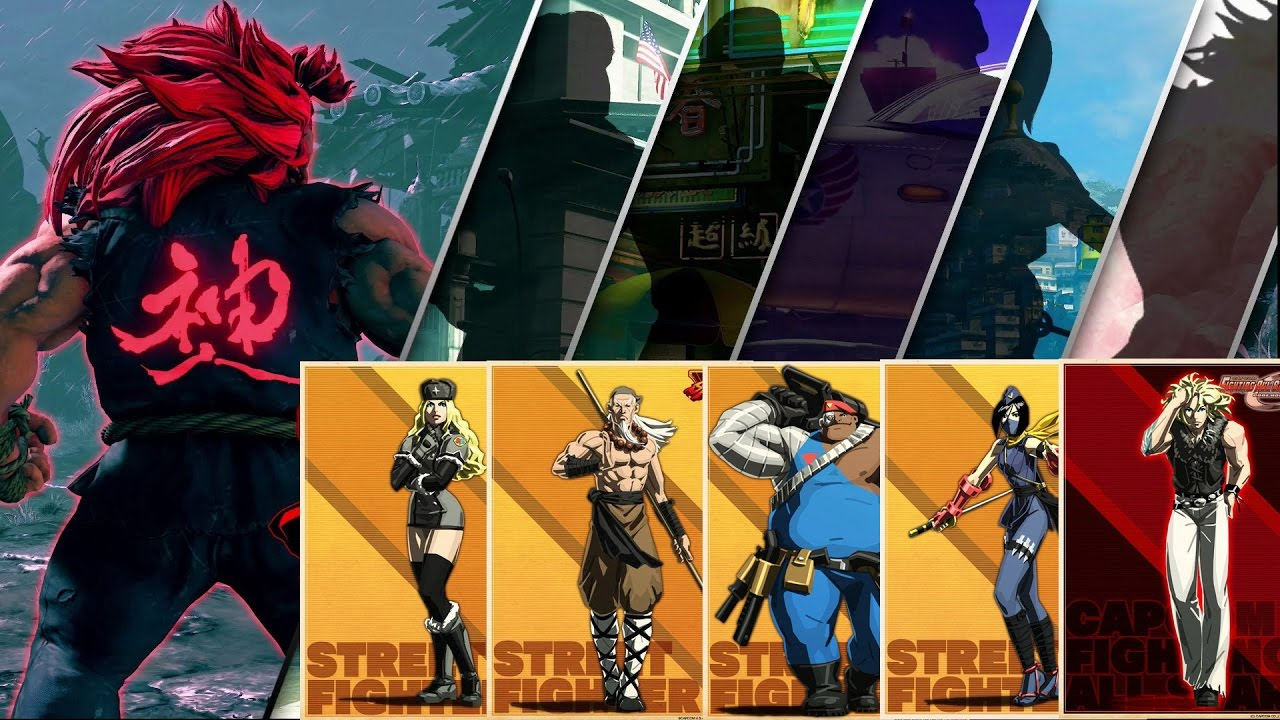 Are These The Season 2 Dlc Characters Of Street Fighter V Youtube