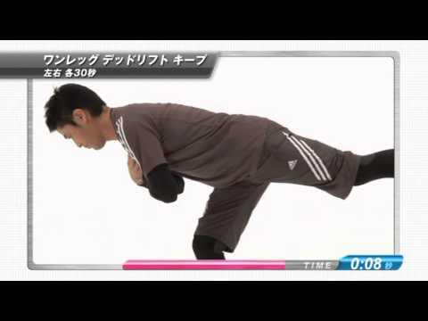 EXILEフィジカルトレーナー直伝の1日3分間の体幹トレーニング!