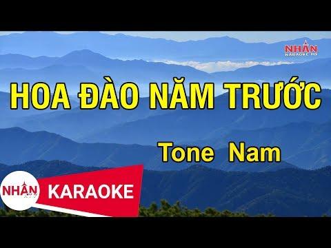 Karaoke Hoa Đào Năm Trước ..Thành Đạt