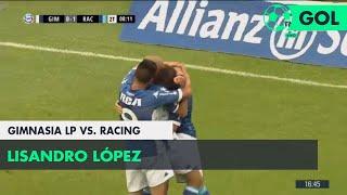 Lisandro López (0-2) Gimnasia LP vs Racing | Fecha 12 - Superliga Argentina 2018/2019