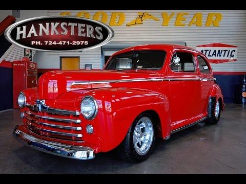 1947 ford tudor sedan in vermillion red w 351ci cleveland ford 47 Ford Coupe Maroon 1947 ford tudor sedan in vermillion red w 351ci cleveland ford engine