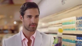 Our attractive model Marco shines in the new Schweppes TVC.