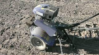 Мотоблок ДТЗ 470Б Работа двигателя.