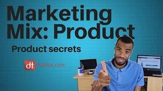 Marketing Mix Product part 1