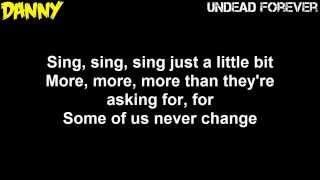 Hollywood Undead - Sing [Lyrics Video]