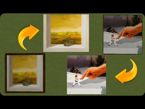 How To Make Minecraft Paintings Hd