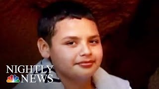 Boy Rescued From Los Angeles Drainage Pipe Speaks Out | NBC Nightly News