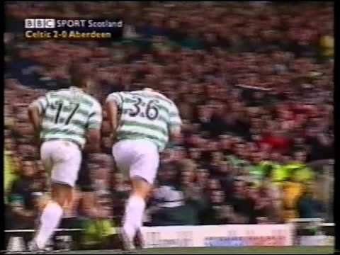 Celtic v Aberdeen 16th December 2000