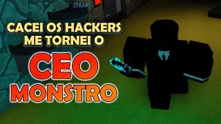 I TURNED the CEO MONSTER and WENT AFTER ALL-DEDOXED at ROBLOX
