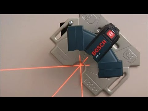 Bosch Wall and Floor Layout Laser - GTL3
