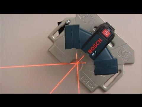 Bosch Wall And Floor Layout Laser - GTL3