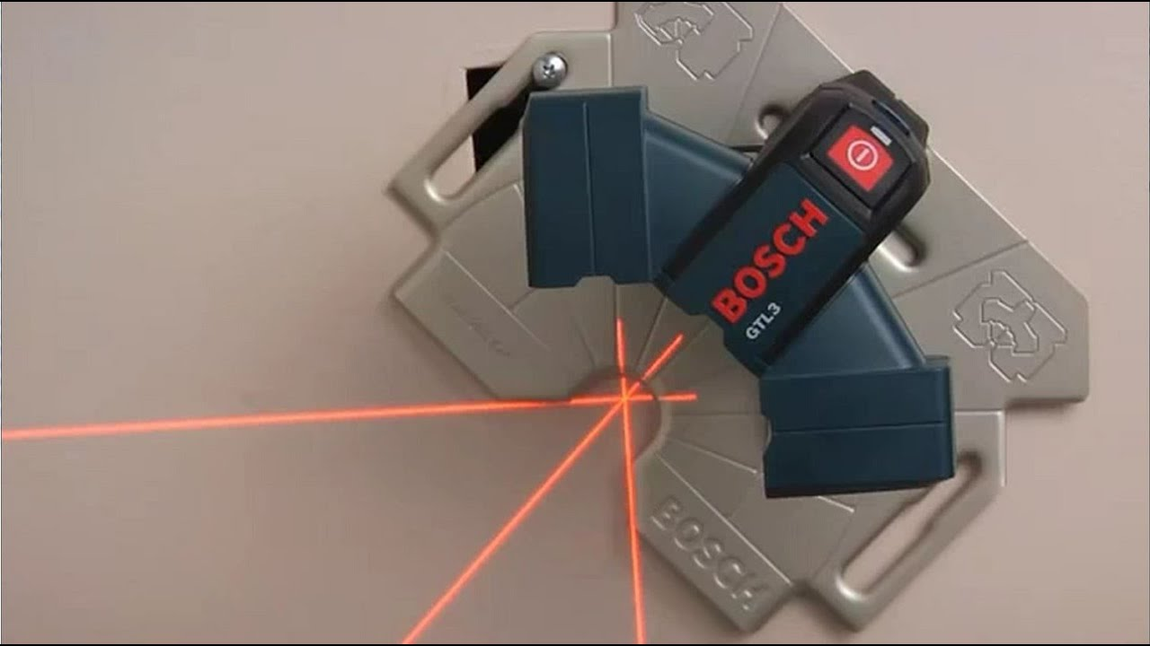 Bosch Wall And Floor Layout Laser Gtl3 Youtube
