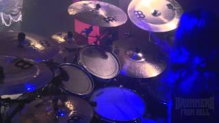 VADER@Sothis live 2012-James Stewart (Drum Cam)