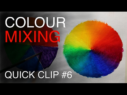 Essential Colour Mixing tips /  your Oil Painting Palette!