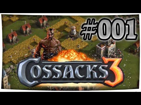 Cossacks 3 freies Spiel - Erste Schritte, Mauer bauen -  #1 - Lets Play Cossacks 3 [Deutsch/German]