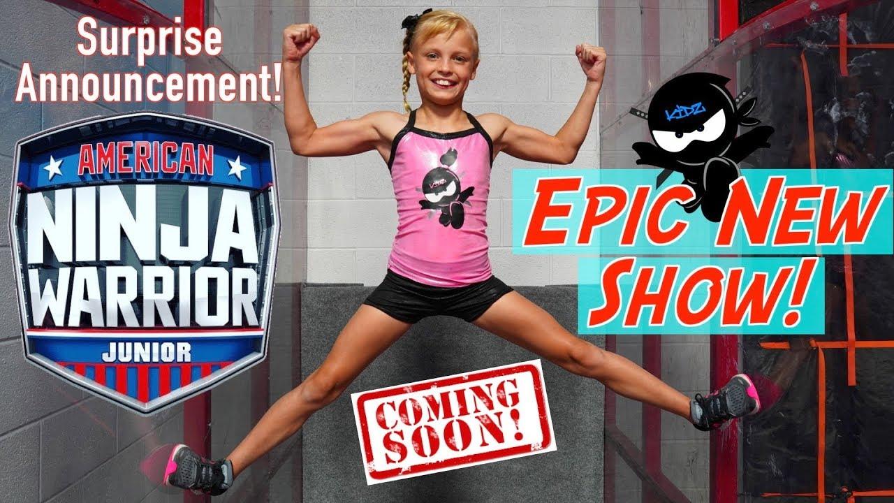 8d75dcd3 Epic New Show American Ninja Warrior Jr Ninja Kidz Tv Youtube