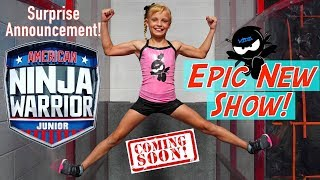 EPIC New Show! American Ninja Warrior JR! Ninja Kidz TV thumbnail