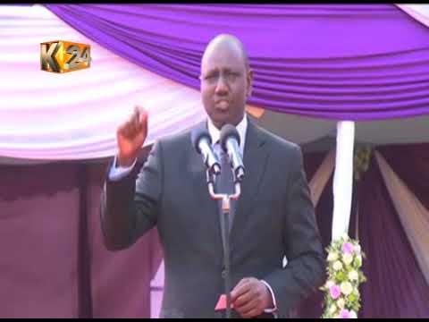 DP Ruto warns leaders against opposing teachers' transfer
