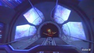 [HD] Ghost Galaxy Coaster Ride - Space Mountain  - HalloweenTime at Disneyland