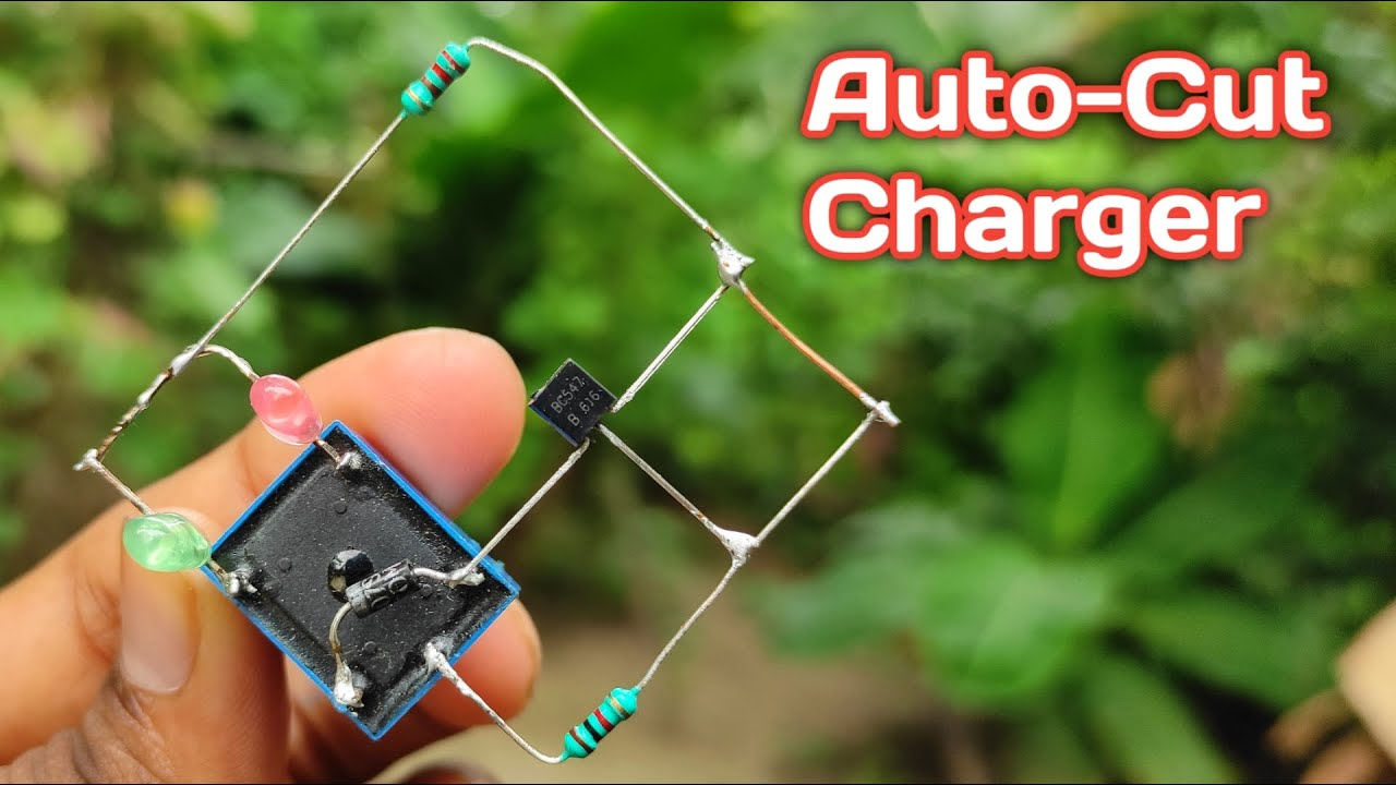 Powerful 3 7v To 6v Battery Full Auto Cut Charger Circuit