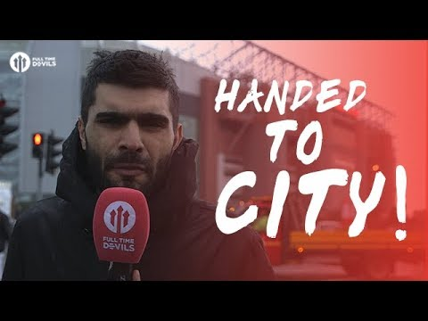Handed City the Title! Manchester United 0-1 West Bromwich Albion