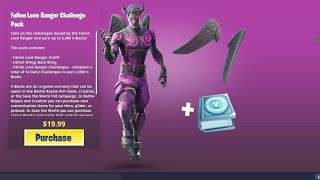 Daily Shop New Valentine's Day Skins Package Fallen Love Ranger FORTNITE ITA