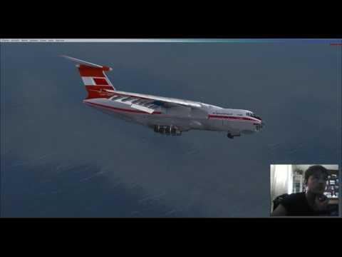 FSX: Punta Arenas to McMurdo Station with an Il-76