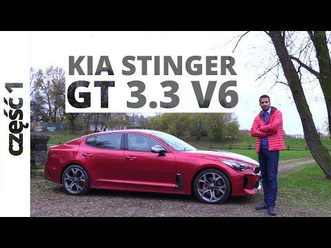 Kia Stinger GT 3.3 T GDI 370 KM, 2017 test AutoCentrum.pl 360