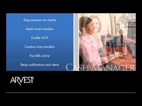 Arvest Cash Manager Demo