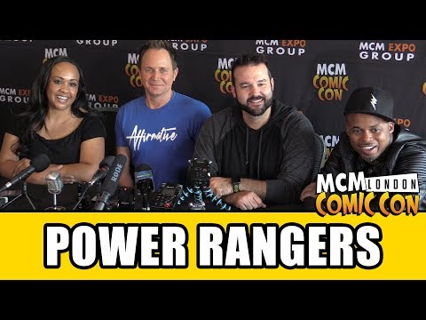 POWER RANGERS Interview - Austin St John, Karan Ashley, David Yost & Walter Jones