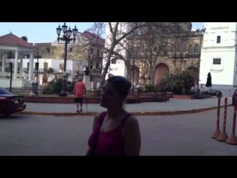 Panama - church square