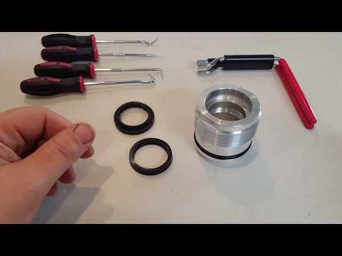 How To Easily Install Hydraulic Cylinder Rod Seal Using Seal Installer Tool