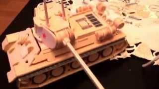 Створюємо Середній танк з дерева!