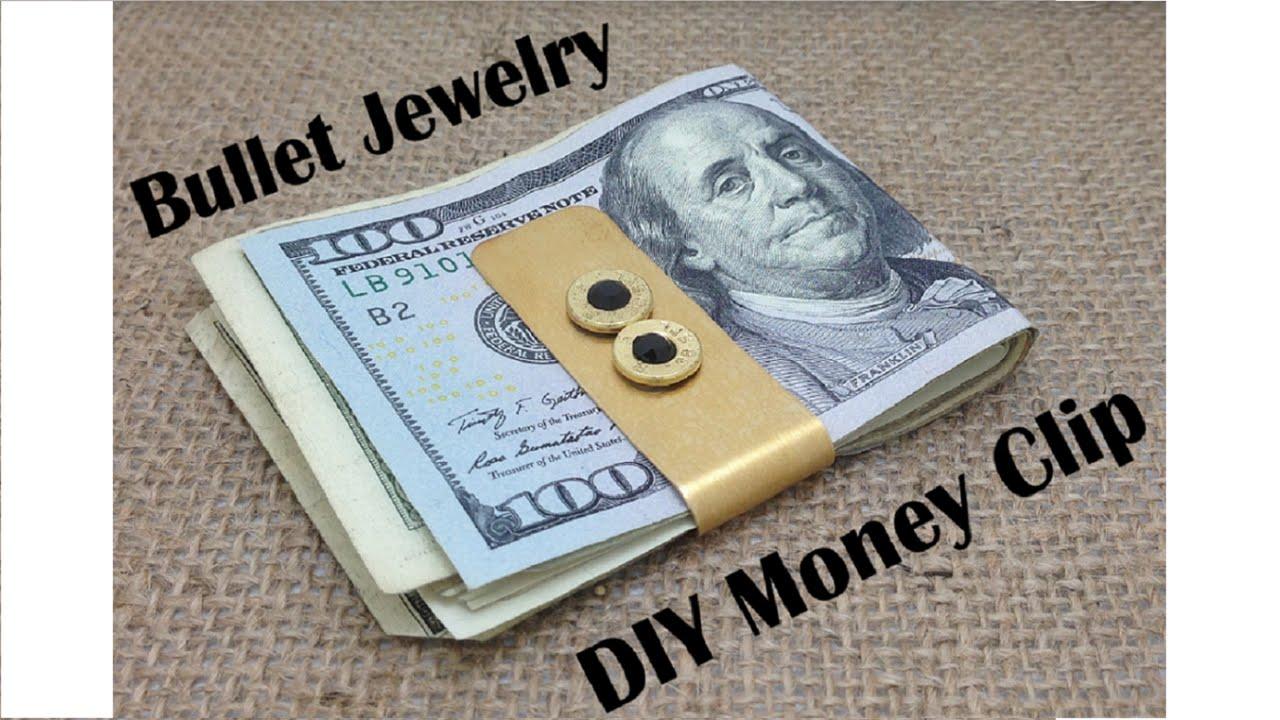 Bullet Jewelry DIY: Money Clip