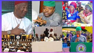GOV HOPE UZODINMA MOCKS IHEDIOHA & SUPPORTERS AS COURT CHANGED HIS NAME FROM SUPREME COURT GOVERNOR