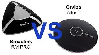 Сравнение Orvibo Allone и BroadLink RM Pro