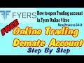 Fyers online Trading account opening step by step