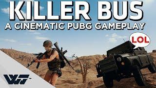 THE KILLER BUS - Hillarious TPP Solo Miramar - Cinematic PUBG Gameplay