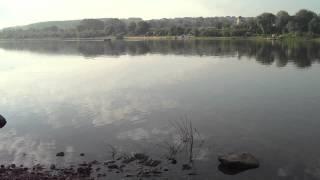 Река Ока. Ловля налима. Разлив 2017