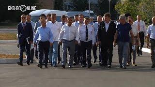 Рустам Минниханов совершил визит в Нижнекамск