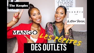 Les Pépites des outlets : SANDRO / THE KOOPLES / MANGO / & OTHER STORIES