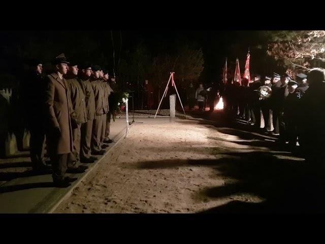 156 rocznica wybuchu Powstania Styczniowego - Słubice - 22.01.2019 r.