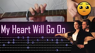 Download Lagu How to play 'My Heart Will Go On' Guitar Tutorial [TABS] Fingerstyle mp3